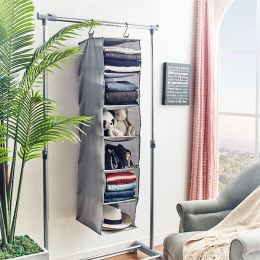 EASI-13010143  6-Shelf Sweater Organizer