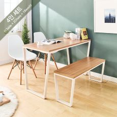 Robe-Ivy-Oak-4  Dining Set (1 Table + 2 Chairs + 1 Bench)
