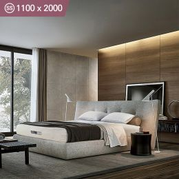 Better-1100-USA  Super Single  Memory Foam Mattress  (상단)