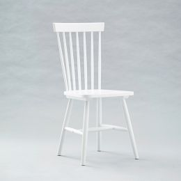 Vanka-White  Wooden Chair