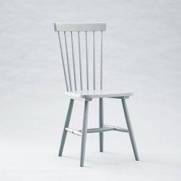 Vanka-Grey Wooden Chair