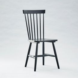 Vanka-Black Wooden Chair