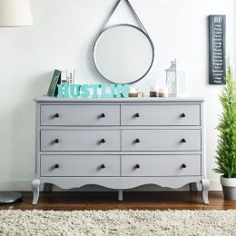 B2185-22-Grey  Drawer Dresser