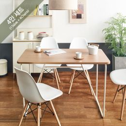 IK-Small-Ivy-Oak-4C  Dining Set