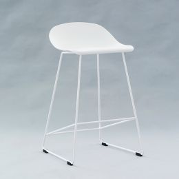 PC-148A-White  Bar Chair