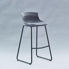 7-08SR-Grey  Bar Chair