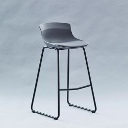 7-08SR-Grey  Bar Chair