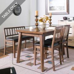 Miso-4-Walnut  Dining Table