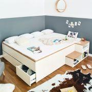 Manhattan-2500-F  Storage Bed