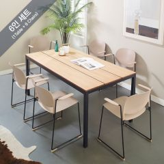 Pacific-6-Stacks Dining Set (6인용)