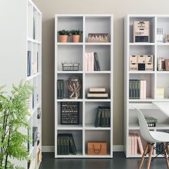 Pascal-White-8  Bookcase