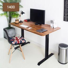 Gauss-Acacia  Metal Desk  (23t Top)