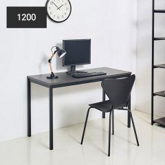 iK-12B-Blk-D Metal Desk  (23t Top)