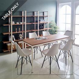 iK-16i-Oak Modern Table (23t Top)