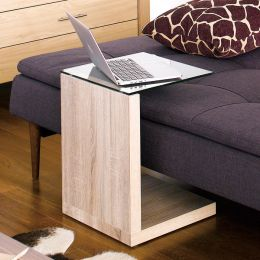 Tupit-Oak  Mobile Table