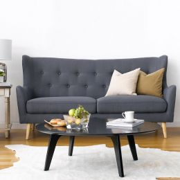 Kamma-Grey  3-Seater Sofa