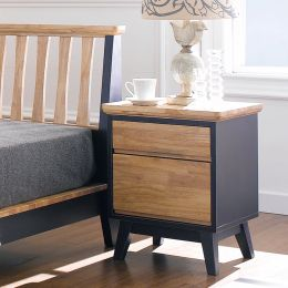 NB-Blue-NS  2-Drawer Nightstand