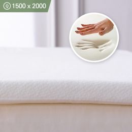 Memory Foam-3-1500 Queen  Mattress Topper 1500