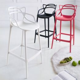 PP-601C-White  Bar Chair