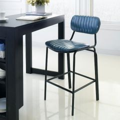 Veronica-Blue-CTR  Bar Chair