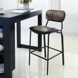 Veronica-Brown-CTR  Bar Chair
