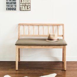 Miso-Nat-S  Wooden Bench