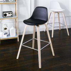 Zaki-Black Bar Chair