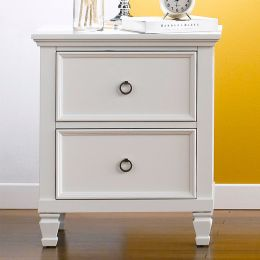 Tamarack-White  Nightstand