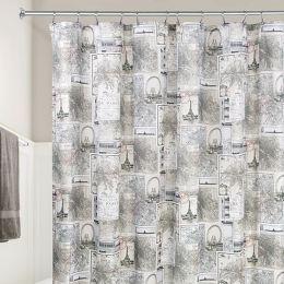 58020ES Shower Curtain  (Size: 183cm x 183cm)