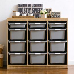 Kreo-OAK-GRY-12  Storage Box