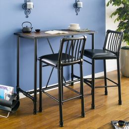TB-243-1320  Counter Table Set  (1 Table + 2 Chairs)
