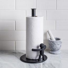 330280-040 Towel Holder-Black
