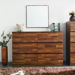 AD-60-Acacia  6-Drawer Chest