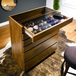SG-5200-Acacia  Sunglass Cabinet