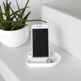 1009279-660  Phone Holder-White