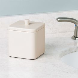 16876EJ Gia Canister-Matte Vanilla
