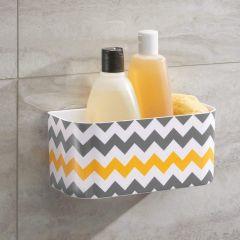 93686EJ Suction Shower Basket