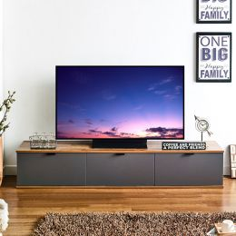 JETT-Aca-Dark Grey  TV Stand