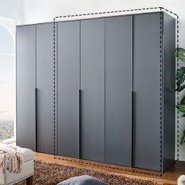WD-5000-Grey-02  2-Unit Closet