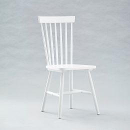 Vanka-White  Wooden Chair