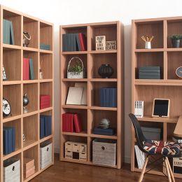 POP-Oak-80  Bookcase