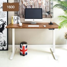 Oxford 1600-Iv-Acacia top Motion Desk