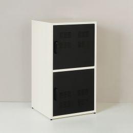 M5-Blk Metal Door Cabinet